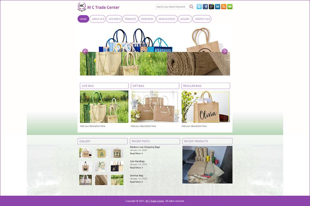 STM Developed site - mctradecenter.com